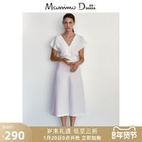 秋冬折扣 Massimo Dutti女装 V 领连衣裙 06655312251