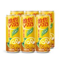 京东PLUS会员、有券的上:vitasoy 维他奶 维他柠檬茶饮料 310ml*6罐 *4件