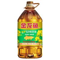 金龙鱼 纯香低芥酸菜籽油 6.18L