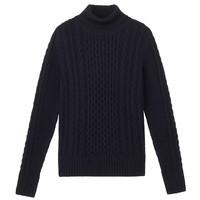 20日0点:MUJI 无印良品 W7AA874 女式高领毛衣