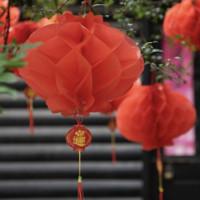 DKtie 締卡  春節裝飾品燈籠 A款(10個裝)