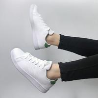 Adidas阿迪达斯 ADVANTAGE K 休闲男女鞋GS百搭小白鞋低帮板鞋运动鞋 绿尾EF0213 粉红尾EF0211