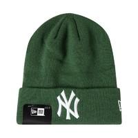 NEW ERA 男女同款NY刺绣针织毛线帽 *2件