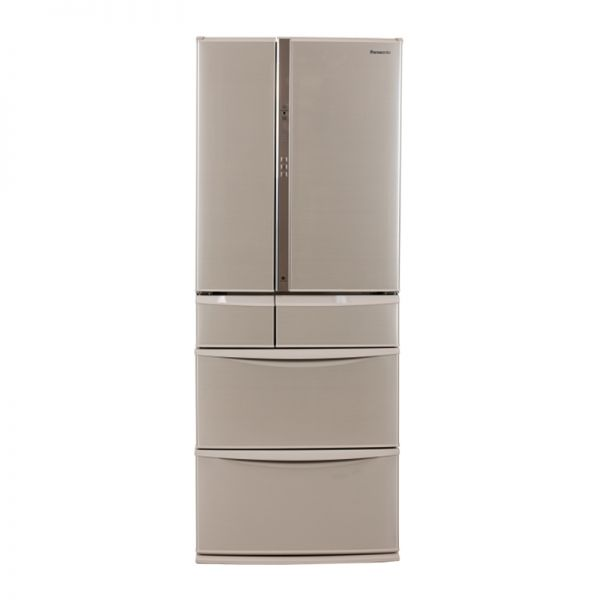 产地日本 进口松下(Panasonic)586升 六门冰箱 NR-F604VT-N5(香槟金)