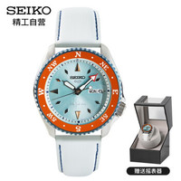 京东PLUS会员:SEIKO 精工 SRPF63K1 男士机械手表