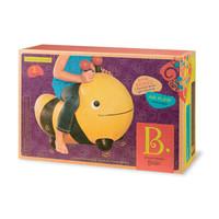 B.Toys 比乐 跳跳河马跳跳小蜜蜂充气幼儿园动物玩具 黄色