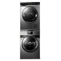 BEVERLY 比佛利 B1GV100EY+LittleSwan 小天鹅 TH100VH88WY 10kg 热泵洗烘套装
