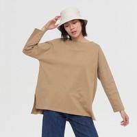 20日0点、必买年货:Gap 盖璞 656453 女装圆领纯棉长袖T恤