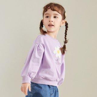 Balabala 巴拉巴拉 女童长袖T恤