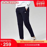 Kappa卡帕男款运动长裤加绒休闲裤小脚卫裤新款| *2件
