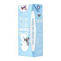 纽仕兰A2-β酪蛋白专注儿童成长全脂牛奶200ml*24蓝色装 澳洲进口