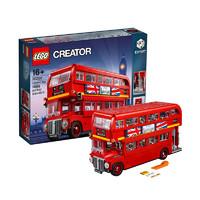 20日0点、考拉海购黑卡会员:LEGO 乐高 Creator 创意百变系列 10258 伦敦巴士