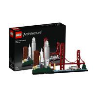 20日0点、考拉海购黑卡会员:LEGO 乐高 Architecture 建筑系列 21043 旧金山 *3件