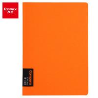 Comix 齐心 C7000 Compera原味系列 PP面线圈本 B5 50张 橙 *3件