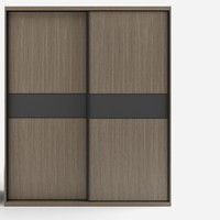 ANBEGE 安贝格 K062 北欧推拉门衣柜 1.6m