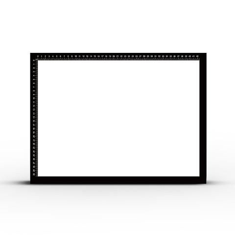 A4A3A2拷贝台临摹板透光画画神器动漫手绘画板专业级工具LED透写台A1水彩复写拓印板发光书法国画描画0透图板