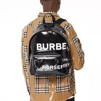 BURBERRY 博柏利 Horseferry 男士印花涂层帆布双肩包