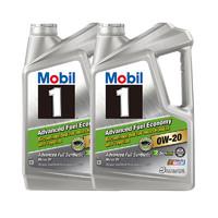 20日0点截止:Mobil 美孚 AFE 0W-20 SN 5Qt 1号 全合成机油 2件装