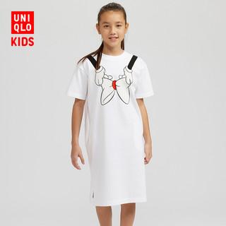 优衣库 童装/女童 (UT) DISNEY AMBUSH T恤式连衣裙(短袖) 426679