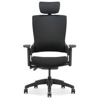 20日0点:UE 永艺 Mellet 人体工学椅(经典黑布黑框)