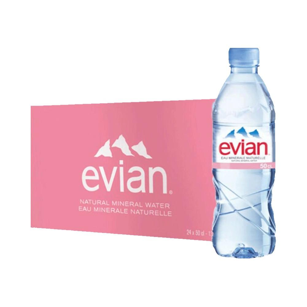 聚划算百亿补贴 :  Evian 依云天然矿泉水 500ml*24瓶
