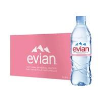 聚划算百亿补贴: Evian 依云天然矿泉水 500ml*24瓶