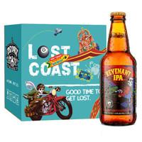 LOST COAST 迷失海岸 亡魂IPA啤酒 355ml*6瓶 *3件
