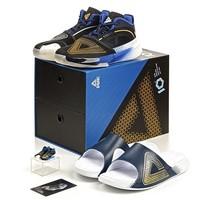 PEAK 匹克 态极超轻大三角配色 青回套装 篮球鞋+拖鞋