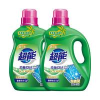 超能 植翠低泡系列 洗衣液 3.5kg*2瓶 馨香依兰