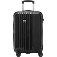 瑞世(SUISSEWIN)拉杆箱商务登机箱时尚简约行李箱静音万向轮密码旅行箱 SN8810 20英寸 黑色