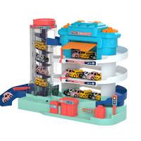 SNAEN 斯纳恩 儿童汽车大楼玩具