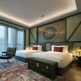 春节可用!可拆分!上海虹桥英迪格酒店 高级房2晚(含早餐+双人欢乐时光+minibar)
