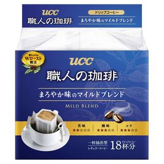 UCC 悠诗诗 职人系列 圆润柔和 职人挂耳咖啡 7g*18包