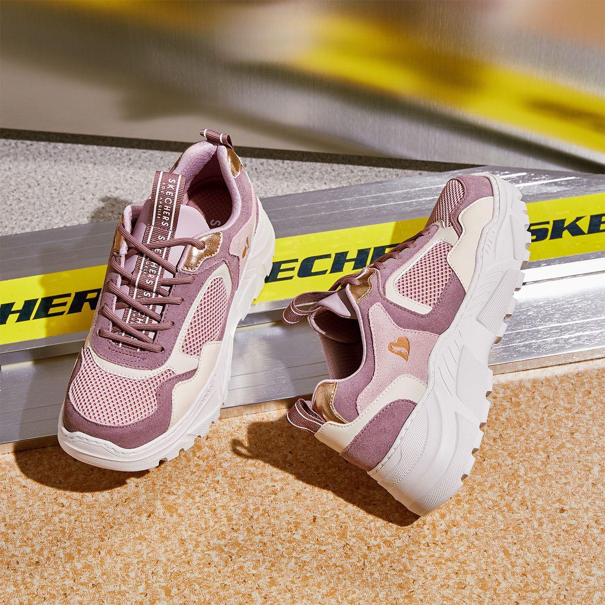 SKECHERS 斯凯奇 74245-MVE 女款休闲运动鞋