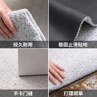 可裁剪网红丝圈地垫入户门垫大门口地毯进门除尘家用蹭土户外脚垫