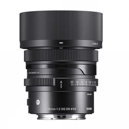 Sigma 适马 35mm F2 DG DN Contemporary 全画幅无反定焦镜头