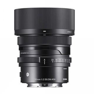 SIGMA 适马 35mm F2 DG DN Contemporary 全画幅无反定焦镜头 L卡口