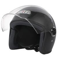 GILLE516 电动车头盔男女士冬季防寒保暖机车半覆式安全帽防晒半盔 *4件