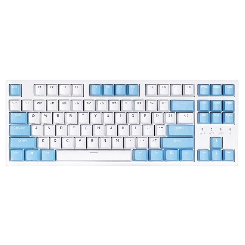 DURGOD 杜伽 K320w 87键 多模机械键盘