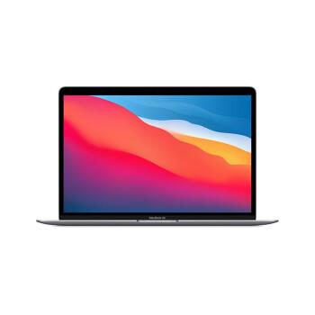 Apple 苹果 2020款 M1 芯片版 13.3英寸 笔记本电脑 深空灰(M1、核芯显卡、16GB、256GB SSD、2K、60Hz、A2337)