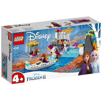LEGO 乐高 Disney Frozen迪士尼冰雪奇缘系列 41165 安娜的独木舟探险