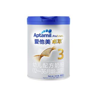 Aptamil 爱他美 白金版 卓萃 幼儿配方奶粉 3段 900克