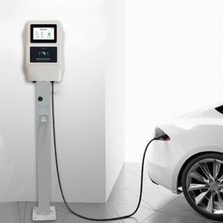 普诺得 32A新能源汽车充电桩 电动汽车通用交流7KW充电器家用大功率充电枪 适用特斯拉北汽比亚迪 不含立柱