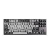 DURGOD 杜伽 TAURUS K320 87键 有线机械键盘 深空灰 Cherry红轴 单光