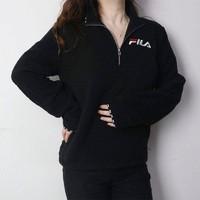 考拉海购黑卡会员:FILA 斐乐 SW936342 女士羊羔绒卫衣