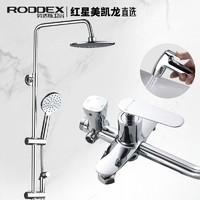 RODDEX 精铜增压除垢花洒套装 带喷枪