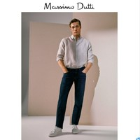 Massimo Dutti  00035135405 男士棉质牛仔裤