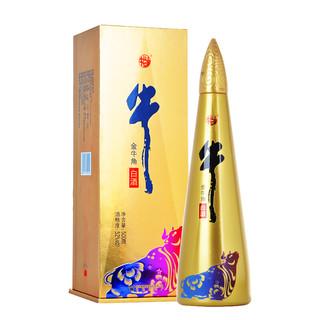 Niulanshan 牛栏山 金牛角尖 52%vol 浓香型白酒 500ml 单瓶装