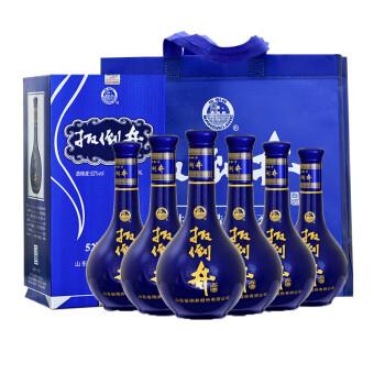 必买年货、京东PLUS会员 : 扳倒井 蓝花坛 52度浓香型白酒 480ml*6瓶