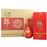 LANGJIU 郎酒 红花郎十  53%vol 酱香型白酒 500ml *6瓶 整箱装